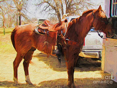 Wall Art - Photograph - Ready For Some Ropin by Shannon Story