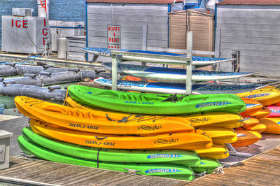 Stand Up Paddle Board Photograph - Ready For Summer by Heidi Smith