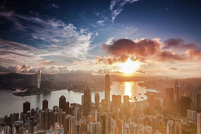 Cityscape Photograph - Ready For Summer In Hong Kong by Kenny Chow Kmdd