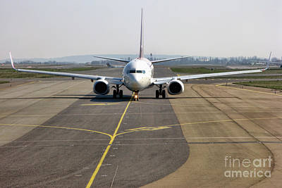 Airliners Photograph - Ready For Take Off by Olivier Le Queinec