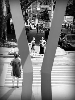 Photograph - Ready To Cross by Valentino Visentini