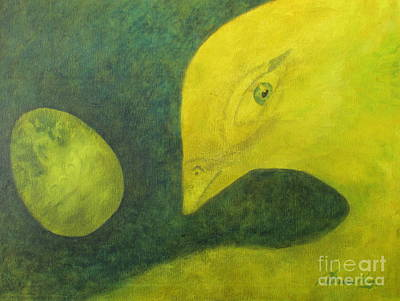 Painting - Ready To Emerge by Denise Hoag