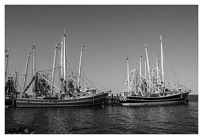 Gulf Coast Photograph - Ready To Go Out by Barry Jones