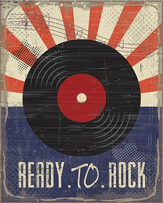 Ready To Rock Art Print