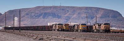 Locomotives Photograph - Ready To Roll by Jim Thompson