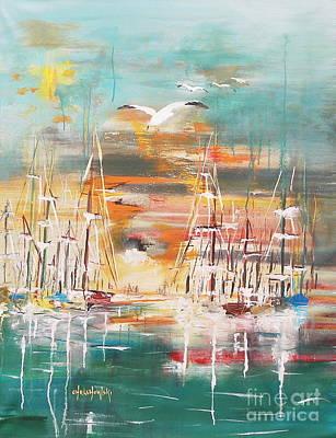 Ready To Sail Away Art Print