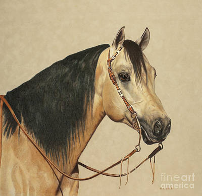 Drawing - Ready To Win by Helen Bailey