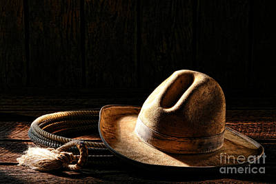 Stetson Photograph - Ready To Work by Olivier Le Queinec