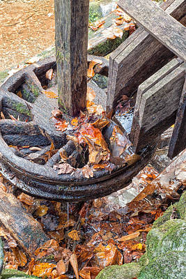Reagan Mill Tub Wheel Art Print