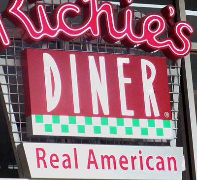 American Food Digital Art - Real American Diner by Barbara Snyder