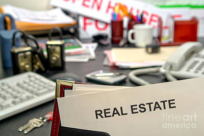 Photograph - Real Estate by Olivier Le Queinec