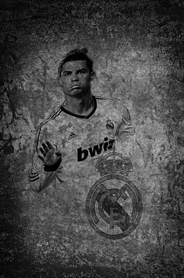 Cristiano Ronaldo Photograph - Real Madrid Symbol by Paulo Goncalves