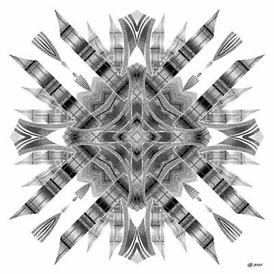 Digital Art - Realization Transformer Tile Print 1 by Brian Johnson
