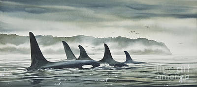Pods Painting - Realm Of The Orca by James Williamson