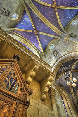 Photograph - Rear Ceiling by Charles Lupica