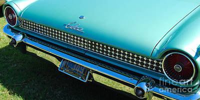 Photograph - rear grill Ford Galaxie by Mark Spearman