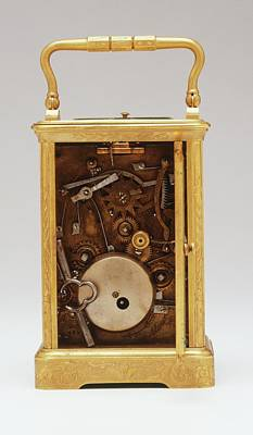 Embellished Photograph - Rear View Of Clock by Dorling Kindersley/uig