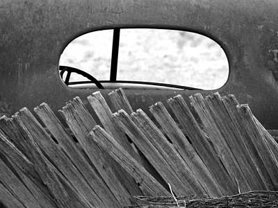 Art Print featuring the photograph Rear View by Tom DiFrancesca