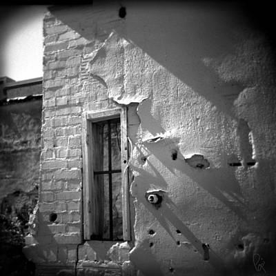 Rear Window Art Print by Paul Anderson