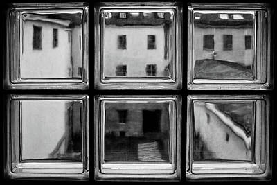 Window Photograph - Rear Window by Roswitha Schleicher-schwarz
