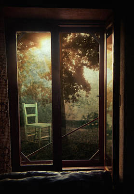 Photograph - Rear Window by Taylan Apukovska