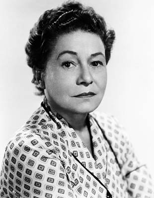 1950s Movies Photograph - Rear Window, Thelma Ritter, 1954 by Everett