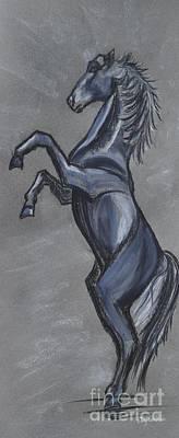 Rearing Horse Original