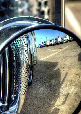 Jerry Sodorff Royalty-Free and Rights-Managed Images - Rearview 34671 by Jerry Sodorff