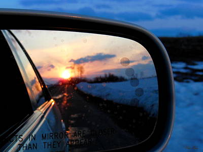 Rearview Art Print