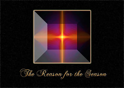 Digital Art - Reason For The Season by Carolyn Marshall