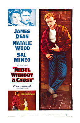 Rebel Without A Cause, Us Poster Art Art Print