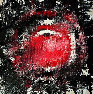 Painting - Rebel Yell by Cyryn Fyrcyd