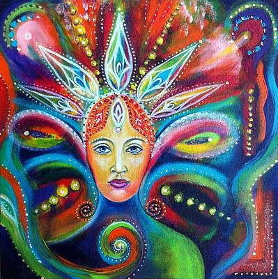Painting - Rebirth by Alexandra Florschutz