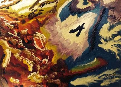 Multimedia Painting - Rebirth Of A Myth by Edward Paul