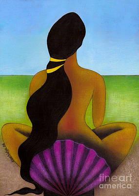 Regeneration Painting - Rebirth Of Venus by Mucha Kachidza