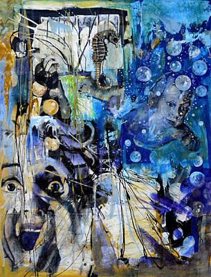 Karma Mixed Media - Rebirth by Paul Banham