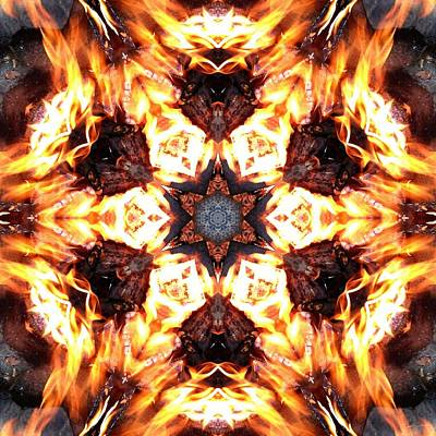 Photograph - Rebirth Through Fire K1 by Derek Gedney