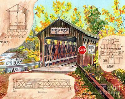 Painting - Rebuild The Bridge by LeAnne Sowa