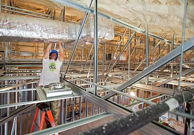 Rebuilding After Hurricane Katrina Art Print