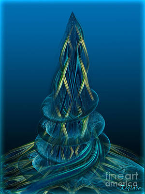 Rebuilding Atlantis - Fantasy Art By Giada Rossi Art Print