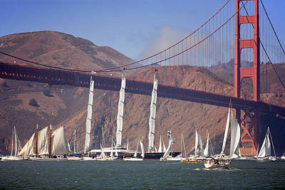 Maltese Falcon Photograph - Reception At The Golden Gate by Daniel Furon
