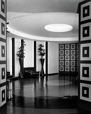 Reception Photograph - Reception Hall At The Terrace Club by Peter Nyholm