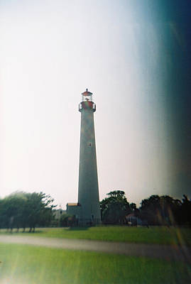 Photograph - Recesky - Cape May Point Lighthouse 3 by Richard Reeve