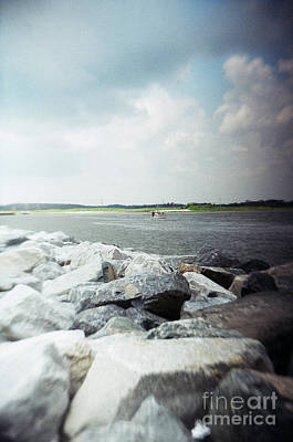 Photograph - Recesky - Estuary by Richard Reeve
