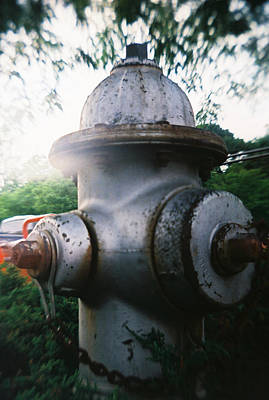 Photograph - Recesky - Fire Hydrant by Richard Reeve