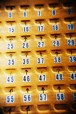 Photograph - Recesky - Pick A Number by Richard Reeve