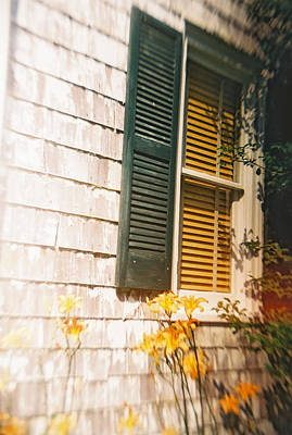 Photograph - Recesky - Shutters by Richard Reeve