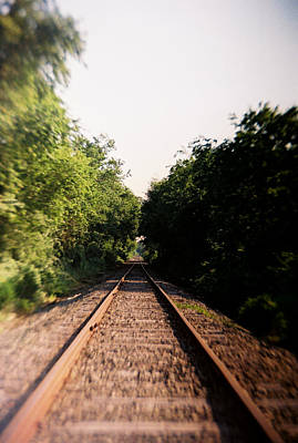 Photograph - Recesky - Up The Line At Lewes by Richard Reeve