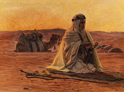 Recitation Of The Maghrib Art Print
