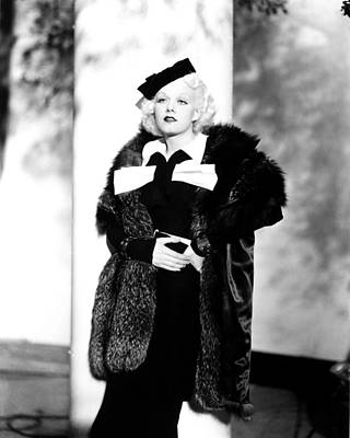 1935 Movies Photograph - Reckless, Jean Harlow, In A Suit by Everett